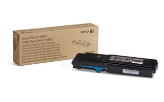 Xerox Phaser 6600 WC 6605 High Capacity Cyan Toner 106R02225