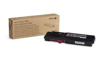 Xerox Phaser 6600 WC 6605 High Capacity Magenta Toner 106R02226