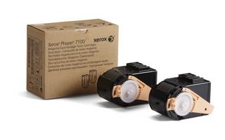 Xerox Phaser 7100 Dual Pack Magenta Toner 106R02603