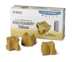 Xerox Phaser 8560 Yellow Solid Ink 3-sticks 108R00725