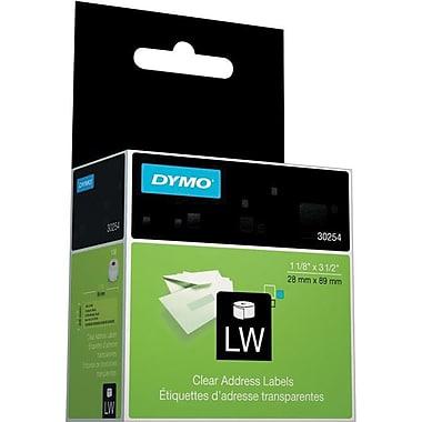 Dymo 30254 LW Clear Address Label