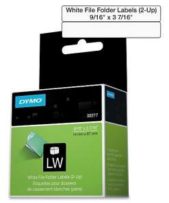 Dymo 30277 LW 2-up File Folder Label