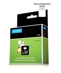 Dymo 30332 LW 1x1 Multi-Purpose Labels