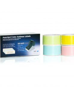 Seiko Address Labels Assorted Colors SLP-4AST