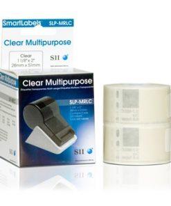 Seiko Clear Multipurpose Labels SLP-MRLC