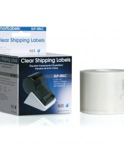 Seiko Clear Shipping Labels SLP-SRLC