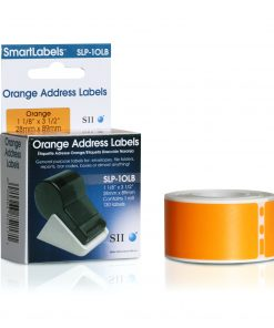 Seiko Orange Address Labels SLP-1OLB