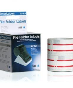 Seiko Red File Folder Labels – SLP-FLR