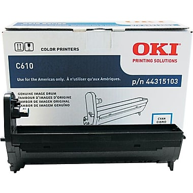 Oki C610 Black Cyan Drum 44315103