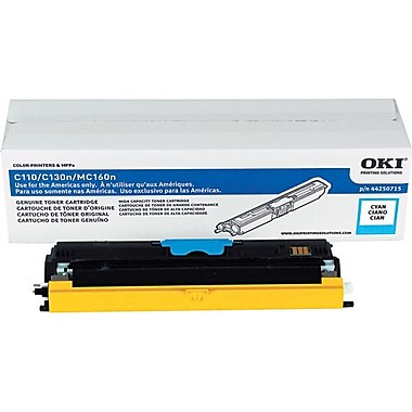 OkiData Type D1 High Yield Cyan Toner 44250715