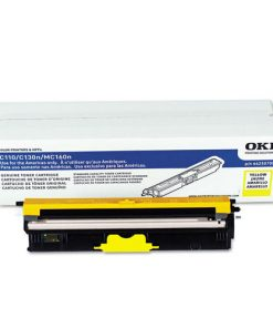 OkiData Type D1 Standard Yield Yellow Toner 44250709