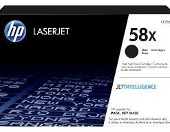 HP 58X High Yield Toner