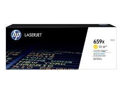HP 659X High Yield Yellow Toner