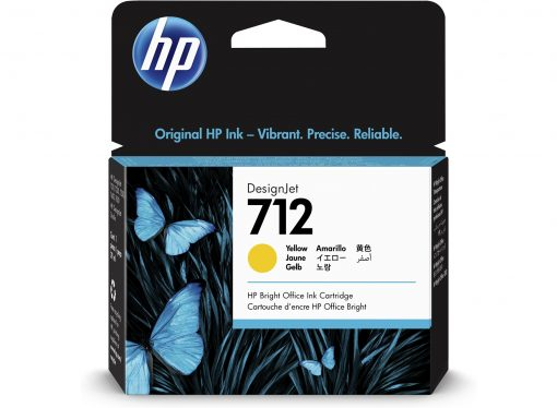 HP 712 Yellow Ink Cartridges
